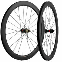 50mm Disc Brake Road Bike Carbon Wheels 25mm U Shape Disc Brake Wheelset 700C