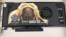 BFG Tech NVIDIA GeForce 8800 GT BFGE88512GTOCFE 512MB GDDR3 SDRAM P393 - Works!