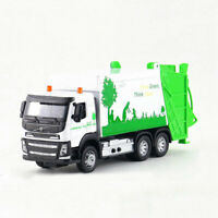 Garbage Dump Truck 1:50 Collectable Model Car Diecast Toy Vehicle Kids White