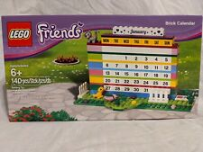 LEGO Friends Brick Calendar 850581 Retired Yellow Bird Cat Rare desk accessory