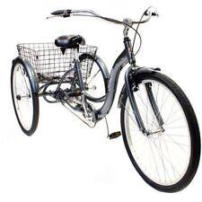 "26"" Schwinn Meridian Adult cheap best Tricycle, silver"