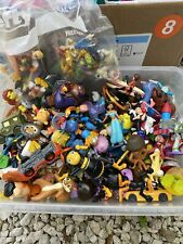Mxed Lot Of Mini Vinyl Figures Disney And Others Used
