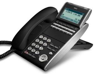 NEC ITL-12D-1(BK)TEL ILV(XD)Z-Y(BK) 690002 IP Phone Black Tested 1 Year Warranty