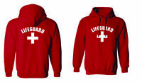 Lifeguard  Front and Back Sweat Shirts Hoodie Pullover