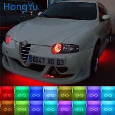 Multi-color RGB LED Angel Eyes Halo Ring Eye for Alfa Romeo 147 00-04 Accessorie