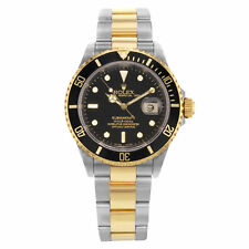 Rolex Submariner 16613 18K Yellow Gold & SS Automatic Men's Watch