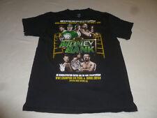 WWE CHAMPIONSHIP MONEY IN THE BANK 2012 SHIRT JERICHO CENA BIG SHOW KANE SIZE M