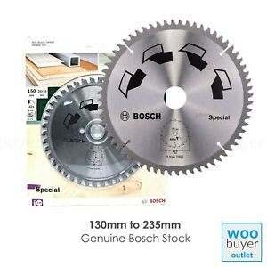 Bosch Circular Saw Blade SPECIAL - Multi Purpose use - 130mm to 235mm Tungsten