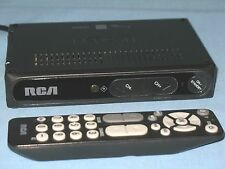 RCA ~ DIGITAL TV CONVERTER BOX WITH REMOTE CONTROL ~ MODEL # DTA800B1