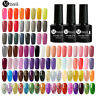 MTSSII 250 Colors Gel Nail Polish Set Top Base Coat UV Glitter Soak Off Nail Art