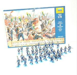 1/72 (37 FIGURES) ZVEZDA 8042 French infantry, voltigeurs 1805-1813