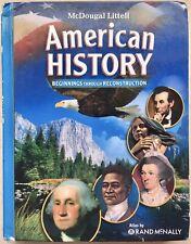 McDougal Littell Middle School American History: McDougal Littell American.