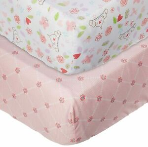 Princess Happily Ever After 2-pk Crib Sheets by Disney Baby
