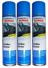 6 x SONAX Scheibenenteiser 400ml, Defroster, Sprühenteiser, Entfroster-Spray