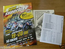 B 2006 THE BIKERS CLASSICS SPA-FRANCORCHAMPS PROGRAMME