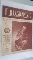 EL ILUSIONISTA Revista Dibujada N º 184 Y 185 19è Annee 3-4E Cuarto 1953 ABE