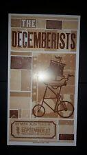 THE DECEMBERISTS Ryman HATCH SHOW PRINT Tour Nashville 2009 Poster