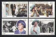 Fiji 1999 REGINA MADRE/Compleanno/ROYALTY 4v Set (n27290)