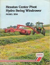 Farm Equipment Brochure - Hesston - 1014 - Windrower - 1974 (F1313)