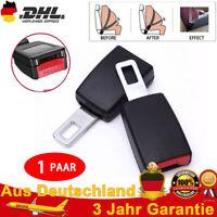 2xAdjustable Auto Sicherheit Sitzgurt Extender Verlängerung Schnalle Lock Clip