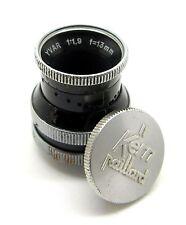 Paillard Bolex Kern Yvar D-Mount 13mm f1.8 Lens & Cap