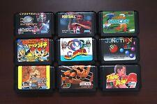 Sega Mega Drive Dodge Danpei Soccer Football Final Blow 9 JP game lots US Seller