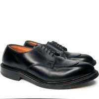 Allen Edmonds Walton Dress Shoes Men's Size 7.5 D - Black Split Toe Derby Oxford