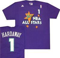 Orlando Magic Anfernee Penny Hardaway Adidas All Star 1995 Purple T Shirt