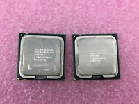 Lot of (2) Intel Core 2 Duo E4500 @ 2.2GHz SLA95 Socket 775 Processor