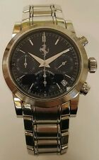 Girard Perregaux stainless Ferrari Automatic Chronograph Watch 37MM
