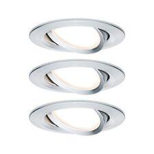 Paulmann Einbauleuchte LED Coin Slim Ip23 rund 6 8w Alu 3er-set Dimmbar