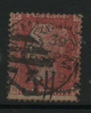 GB 1858-79 Penny Red SG43 Plate number 221 NK good used stamp