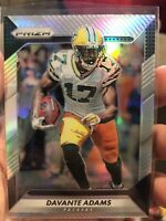 2016 Panini Prizm Silver Holo Refractor Davante Adams Card #129 NFL Packers