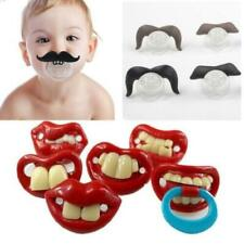 Baby Silicone Teat Newborn Kids Orthodontic Dummy Pacifier Soother Tool HZ