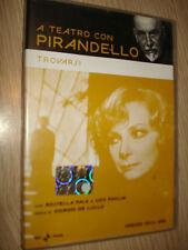 DVD A TEATRO CON LUIGI PIRANDELLO TROVARSI CON ROSSELLA FALK E UGO PAGLIAI