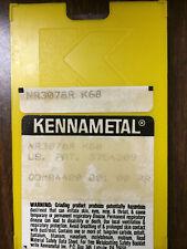 10 pcs KENNAMETAL  NR3078R  K68 FULL RADIUS CARBIDE GROOVING INSERTS