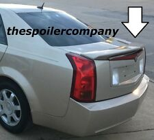 PRE-PAINTED ANY COLOR CUSTOM 2-POST REAR SPOILER FOR 2003-2007 CADILLAC CTS 4 DR