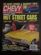 Chevy High Performance July 1997 Hot Street Cars Speed Beauty Tips (QQ)