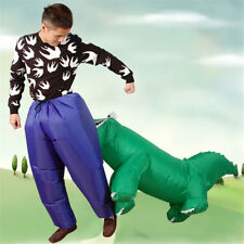 Crocodile chasing people Inflatable Costume Party Fancy Costume Masquerade