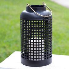 Black Cupertino Candle Lantern