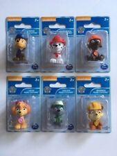 nickelodeon paw patrol mini figures - complete set of 6