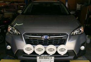 Fits 2021 Subaru Crosstrek Sport SSD RALLY LIGHT BAR (Bull,Nudge),4 light tabs
