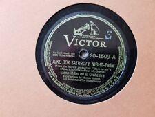 Genn Miller - Juke Box Saturday Night/ Sleepy town train Schellack 78 rpm