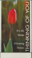 Australia booklet 1994 SG1445-1447 45c Thinking Of You MNH