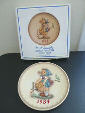 "Goebel Hummel 1984 14th Annual Plate ""Little Helper"" Hum 277"