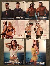 LOT OF 50 DIFFERENT PRO WRESTLING TNA ORIGINAL 8X10 PROMO PHOTOS WWE ECW ROH WCW