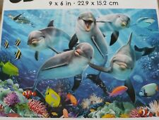 New 50 Piece Super 3D Jigsaw Puzzle (Dolphin Delight) Great for kids and Adults!