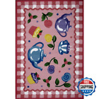 Olive Kids Tea Party Multi C Halloween Party Olored 3 Ft. X 5 Ft. Area Rug
