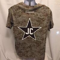 0b544afe3 Jerry Coleman San Diego Padres Digital Camouflage SGA Jersey T-Shirt Sz XL