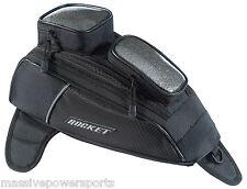Joe Rocket Hammerhead Magnetic Motorcycle Tank Bag Black New